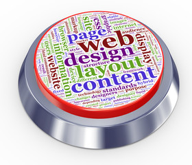 web design button