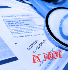 grève des professions médicales,réforme,tiers-payant