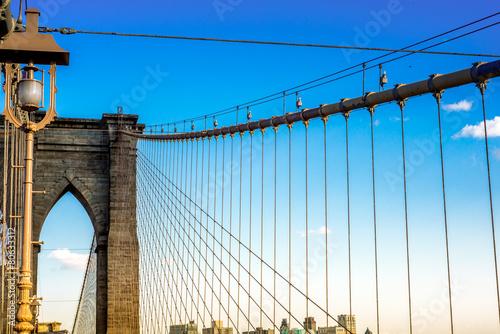 Stampa su Tela Brooklyn Bridge