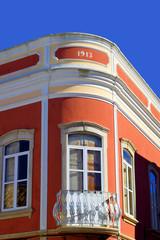 Querenca art deco building in the Algarve, Portugal