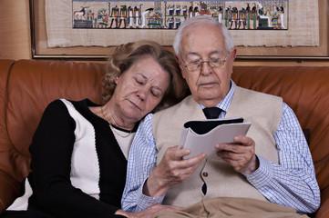 Two seated elders