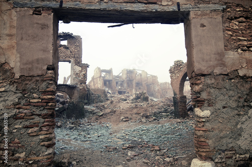 Papiers peints Ruine Belchite
