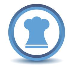Blue Chef hat icon