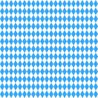 Hintergrund Oktoberfest Bayern bayrisch Rauten blau