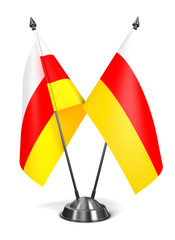 South Ossetia - Miniature Flags.