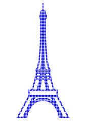 Paris. La Tour Eiffel en pop art