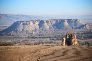 Mountain landscape, Cappadocia, Turkey.
