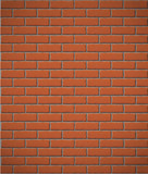 Fototapety wall of red brick seamless background