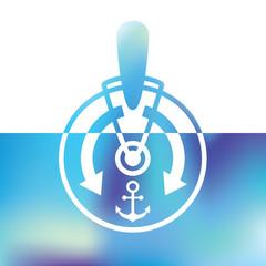 ships telegraph - captain's control room - symbol rate