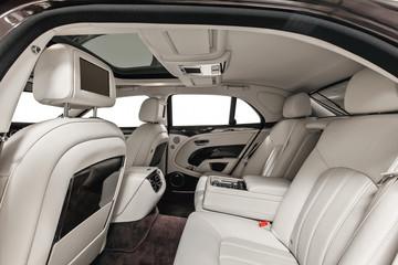 Car interior luxury vip back seats
