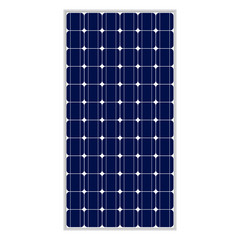 Photovoltaic module, 80,5 x158, true to scale