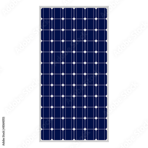 Photovoltaic module, 80,5 x158, true to scale - 80640113