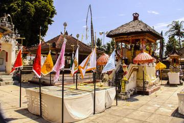 colorfully decorated sanctuary island of Nusa Penida, Indonesia