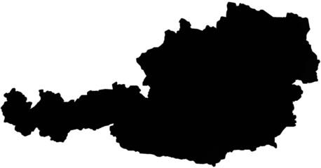 Map of Austria.