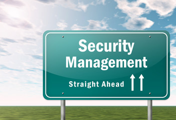 Highway Signpost Security Management