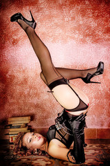 Burlesque Carnival Girl #3
