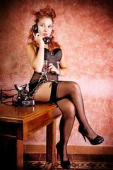 Burlesque Carnival Girl #2