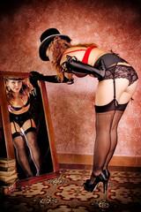 Burlesque Carnival Girl #1