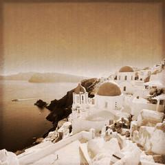 Grèce - Santorin (Old photo effect)