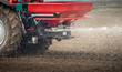Leinwanddruck Bild - Fertilizer agriculture