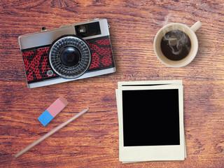 Fond photographie vintage