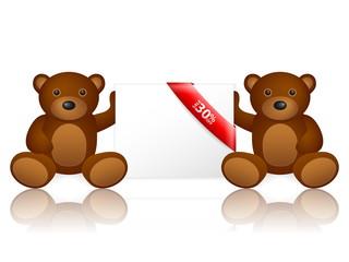 bears 30 percentage off