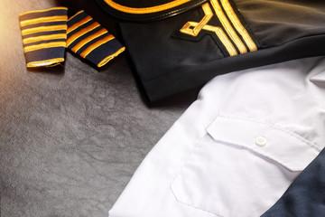 captain uniform abstract
