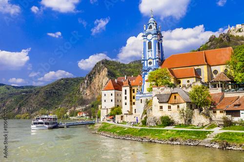 Foto op Plexiglas Wenen Durnstein near Vienna, lower Austria, Wachau valley