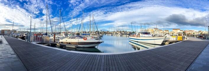 Le Cap d'Agde au matin, Languedoc