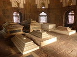 Interior of Isa Khan Niyazi tomb at Humayun's Tomb complex, Delh
