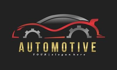 Automotive Repair Vector Logo