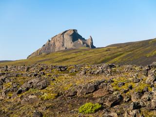 Rocky mountain near Thorsmork
