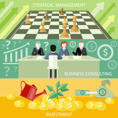 Strategic management, business consulting