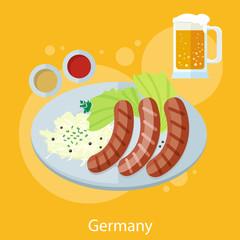 Oktoberfest germany food