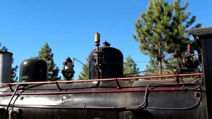 La Trochita de la Patagonia, locomotora de vapor