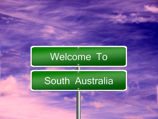 South Australia State Sign