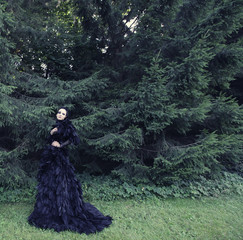 Dark Queen in park