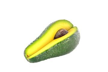 Cut avocado with bone