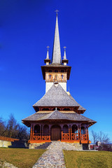 Church Made of Wood and Stone