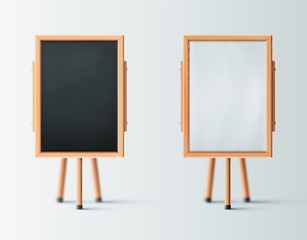 Two Wooden Easel