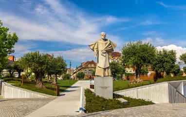 Statue of Antonio Ferreira Gomes in Porto, Portugal