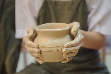 hands of a potter