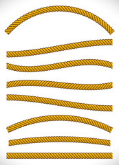 Different rope vectors