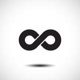 Limitless symbol. Vector illustration poster