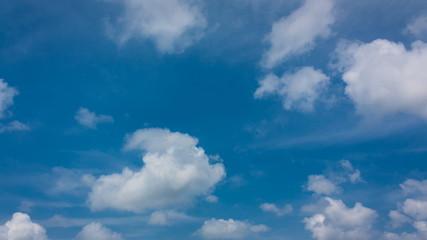 Cloudscape on dailight summer season