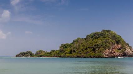 Island on summer in Thailand Asia