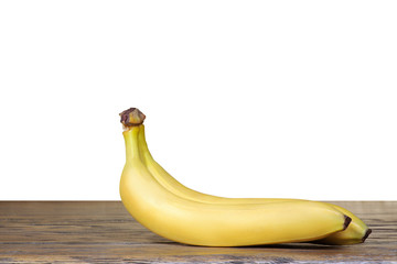 Bananas with isolated background