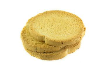 Pila di fette biscottate