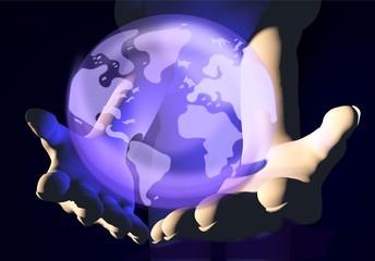 La terra tra le mani