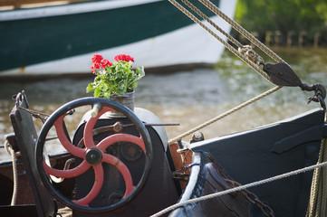 Wheel steamer detail